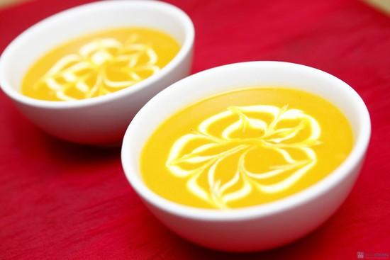 Kết quả hình ảnh cho súp sữa bí đỏ